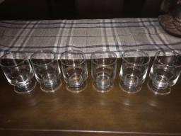 6 copos Nadir Figueiredo
