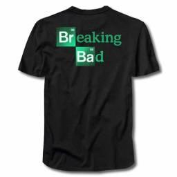 Camisa Breaking Bad- 100% Algodão. Fio 30.1 ArtRock lNkva