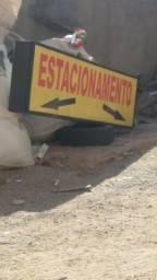 Placa de estacionamento