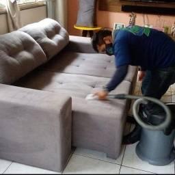 Limpeza de móveis a seco*!