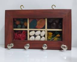 Porta chaves / pano de prato artesanal