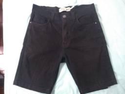 Short Jeans da pool preto masculino