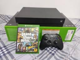 Microsoft Xbox One X 1tb + Gta 5