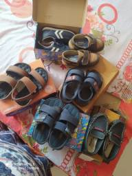 Vendo lote calçado menino usado poucas vezes 23/24