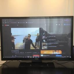 Tv Samsung Plasma 43 Pl43f4000ag ?usada? (Leia o anúncio)