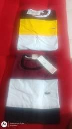 Camiseta masculinas malhas peruana