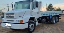 Mercedes Benz Mb 1620 Eletronico Truck 6x2 Com Carroceria 130 MIL