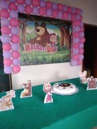 Pós festa Masha e o Urso