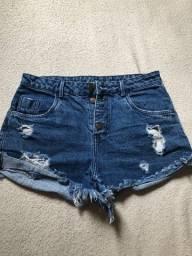 Bermuda jeans 36 usada