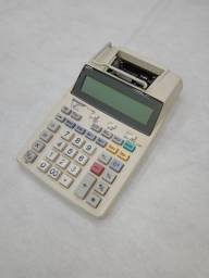 Calculadora com bobina Sharp