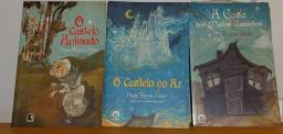 Livros O castelo Animado (3 livros - Raro) LEIA A DESCRIÇÃO