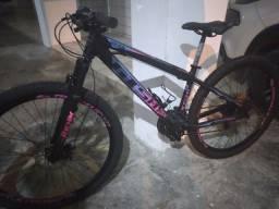Bicicleta semi nova 6 meses de uso