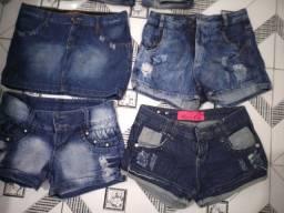 Calças, shorts,saia