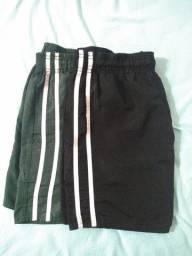 Kit 2 shorts de corrida / futebol / Eb / Fab / tfm