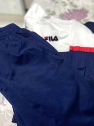 Conjunto de calça e casaco Fila original tamanho G