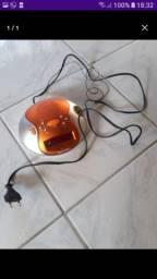 Rádio despertador.