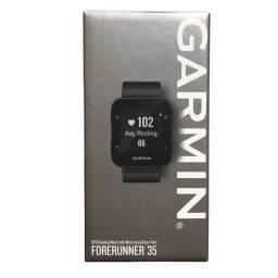 Relógio Garmin Forerunner 35 Preto Gps Monitor Cardiaco Novo Lacrado  - Pronta Entrega