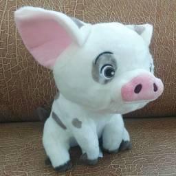 pua porco pelúcia porquinho moana disney-  Retirada da loja
