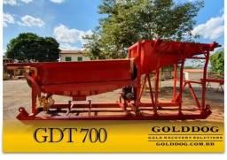 Equipamento para Mineração - Tromel Planta de Lavagem GDT700 GoldDog
