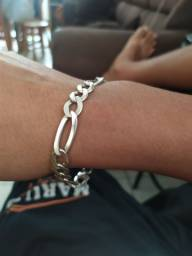 Vendo pulseira de prata