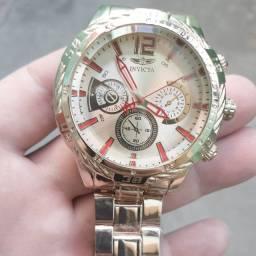Relógio invicta Hp 1993 ,Dourado,NOVO/ACEITO TROCAS