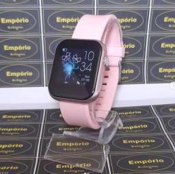 Smartwatch Colmi P9 Lacrado Preto ou Rosa - Entrega Grátis