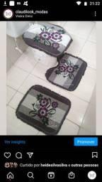 Kit de Banheiro 3 peças r$12,00