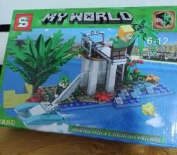Minecraft Miniblocks My World 157 peças