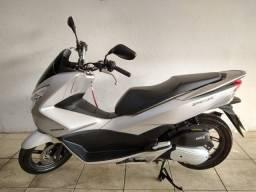 Moto Honda Pcx 150 2018 Prata, ipva pago 2021