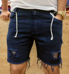 Bermuda Jeans Curtinha Estilo Jogador Atacado