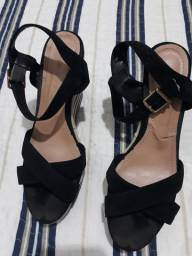 Sapatos lote com 5 pares