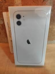 Iphone 11 128GB Branco - Lacrado de Fábrica com Nota Fiscal