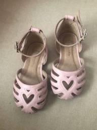 Sandália sapatilha Bibi tamanho 21