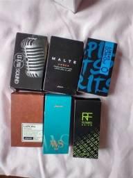 Perfumes masculino e feminino Jequiti
