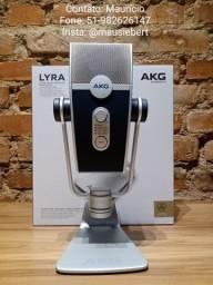 Microfone Condensador Akg Lyra ( C44 - USB )