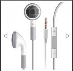 Fone Apple ORIGINAL novo / com microfone e controle de volume