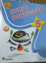 Livro Português Buriti 5° ano (Moderna)