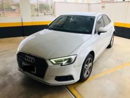 Audi A3 Sedan 1.4 Tfsi Turbo 150cv S-Tronic Automático Flex Branco faz 15km/L Lindo