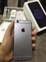 IPhone 6 16gb Space Grey - Caixa e todos acessórios - Nenhum arranhão