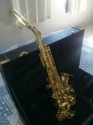 Sax Soprano Curvo Eagle (somente venda)
