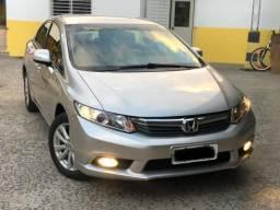 Civic lxs aut 12/12 novíssimo - 2012