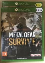 Jogo Xbox One - Metal Gear Survive (Lacrado)