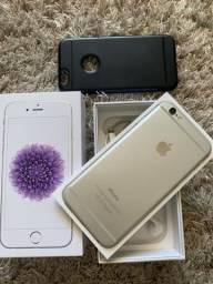 IPhone 6 16GB IMPECÁVEL, completo, sem marcas de uso.