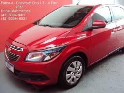 Gm - Chevrolet Onix LT 1.4 Flex - Único Dono - Periciado - Placa A - 2013