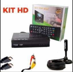 Kit conversor e antena