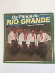 5 Lps Os Filhos Do Rio Grande - Raridades