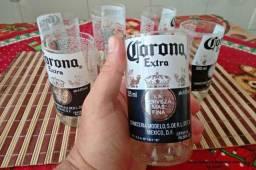 Vendo Jogo de 6 copos da Corona Extra 250ml !!!