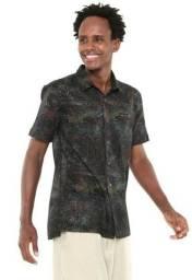 Camisa De Botão Redley Tropical - Tamanho GG - 100% Original