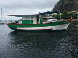 Barco traineira para pesca passeio mergulho