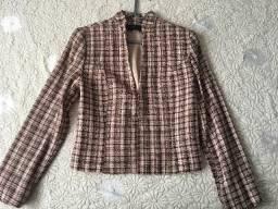 Terno Pyong An camisa Fili Dell Scala Jaqueta Folic